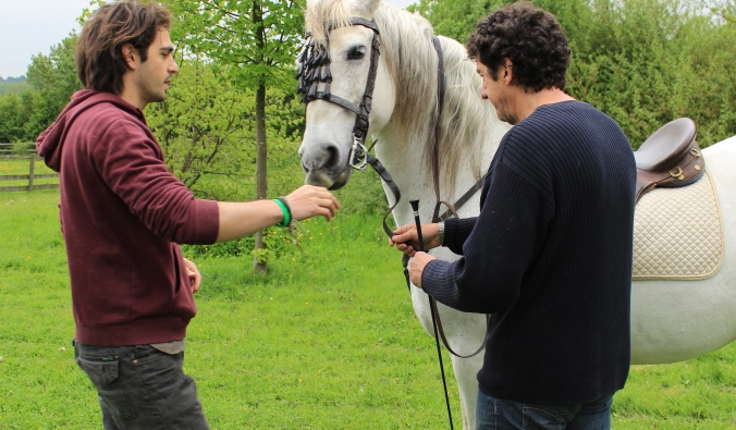 Toby Lord and Spanish Horse