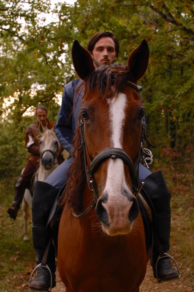 Athos on Horseback